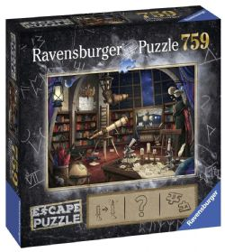 RAVENSBURGER -  L'OBSERVATOIRE ASTRONOMIQUE (759 PIECES) -  ESCAPE PUZZLE