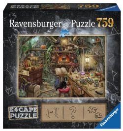 RAVENSBURGER -  LA CUISINE DE LA SORCIÈRE (759 PIECES) -  ESCAPE PUZZLE