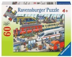 RAVENSBURGER -  LA GARE (60 PIÈCES) - 4 ANS+