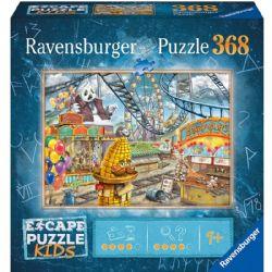 RAVENSBURGER -  LE PARC D'ATTRACTIONS (368 PIECES) -  ESCAPE PUZZLE KIDS