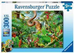 RAVENSBURGER -  LE PARC DES REPTILES (300 PIÈCES XXL) - 9 ANS+