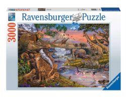 RAVENSBURGER -  LE RÈGNE ANIMAL (3000 PIÈCES)