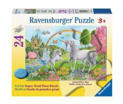 RAVENSBURGER -  LICORNES DANSANTES (24 PIÈCES XXL) - 3 ANS+