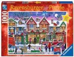 RAVENSBURGER -  NOËL AU PARC (1000 PIÈCES)
