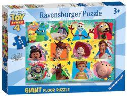 RAVENSBURGER -  NOUS SOMMES DE RETOUR! (24 PIÈCES) - 3 ANS+ -  PUZZLE DE PLANCHER