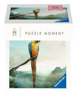 RAVENSBURGER -  PERROQUET (99 PIÈCES) -  PUZZLE MOMENT