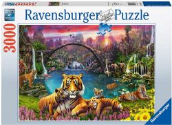 RAVENSBURGER -  TIGRES AU LAGON (3000 PIÈCES)