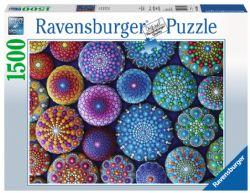 RAVENSBURGER -  UN POINT À LA FOIS (1500 PIÈCES)