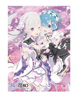 RE:ZERO -  -EMILIA & REM EN PRINTEMPS- (83.8CM X 111.7CM) -  RE: STARTING LIFE IN ANOTHER WOLD