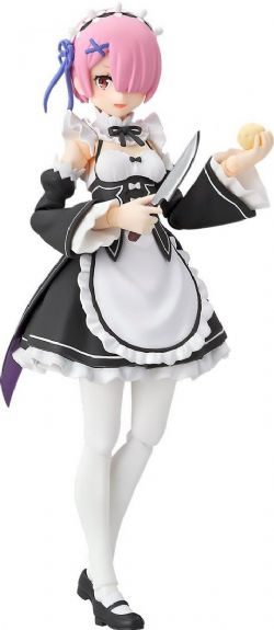 RE:ZERO -  FIGURINE ARTICULÉE FIGMA DE RAM (15 CM) -  STARTING LIFE IN ANOTHER WORLD 347