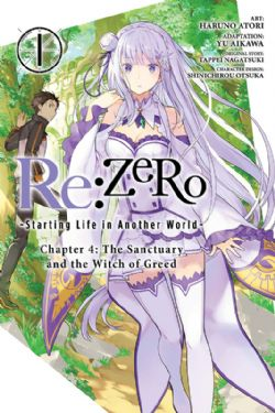 RE:ZERO, STARTING LIFE IN ANOTHER WORLD -  (V.A.) 1 -  CHAPTER 4 : THE SANCTUARY AND THE WITCH OF GREED 19