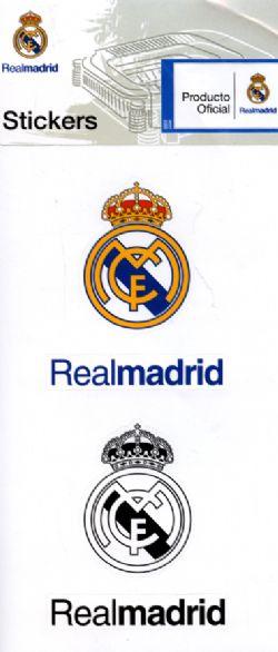 REAL MADRID -  AUTOCOLLANTS