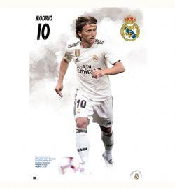 REAL MADRID FC POSTER - 2020 -  LUKA MODRIC #10 (61  X 91.5 CM)