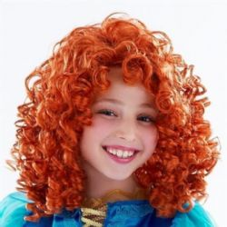 REBELLE -  PERRUQUE DE MERIDA - ROUSSE (ENFANT) -  PRINCESSES DISNEY
