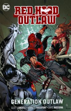 RED HOOD -  GENERATION OUTLAW TP -  RED HOOD: OUTLAW 03