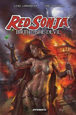 RED SONJA -  BIRTH OF THE SHE-DEVIL TP