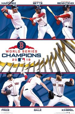 RED SOX DE BOSTON -  AFFICHE