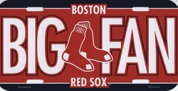 RED SOX DE BOSTON -  PLAQUE D'IMMATRICULATION