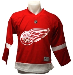 RED WINGS DE DÉTROIT -  CHANDAIL ROUGE IMPRIMÉ (ENFANT)