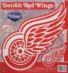 RED WINGS DE DÉTROIT -  LOGO - AUTOCOLLANT MURAL RÉUTILISABLE