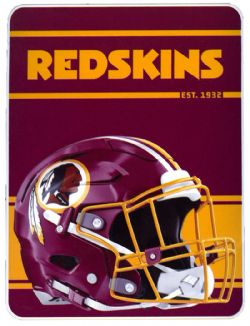 REDSKINS DE WASHINGTON -  JETÉE ULTRA DOUCE (117 CM X 152 CM)