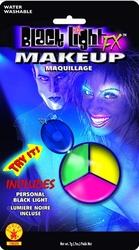REEL F/X -  PALETTE DE MAQUILLAGE 3 COULEUR - VERT, JAUNE, ROSE -  LUMIÈRE NOIRE