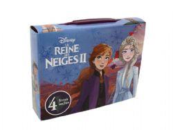 REINES DES NEIGES -  DISNEY - LA REINE DES NEIGES 2 - COFFRET (4 LIVRES)