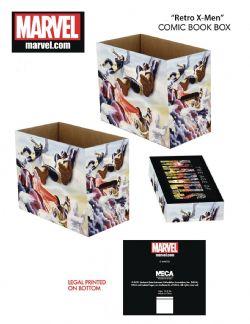 RETRO X-MEN -  BOÎTE DE CARTON POUR 200 COMICS