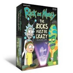 RICK AND MORTY : THE RICKS MUST BE CRAZY MULTIVERSE GAME (ANGLAIS)