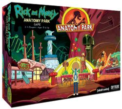 RICK ET MORTY -  ANATOMY PARK - THE GAME (ANGLAIS)