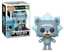 RICK ET MORTY -  FIGURINE POP! EN VINYLE DE TEDDY RICK (10 CM) 662