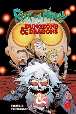 RICK ET MORTY -  PEINESCAPE -  RICK & MORTY VS. DUNGEONS & DRAGONS 02
