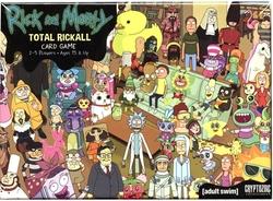 RICK ET MORTY -  TOTAL RICKALL - LE JEU DE CARTES (ANGLAIS)