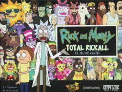 RICK ET MORTY -  TOTAL RICKALL - LE JEU DE CARTES (FRANÇAIS)