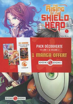 RISING OF THE SHIELD HERO, THE -  PACK DÉCOUVERTE TOMES 01 & 02