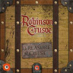 ROBINSON CRUSOE -  TREASURE CHEST (ANGLAIS)