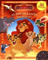 ROI LION, LE -  AUTOCOLLANTS - ALBUM GÉANT -  GARDE DU ROI LION, LA