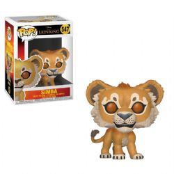 ROI LION, LE -  FIGURINE POP! EN VINYLE DE SIMBA (10 CM) 547