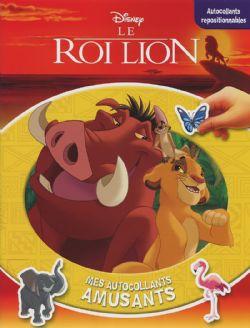 ROI LION, LE -  MES AUTOCOLLANTS AMUSANTS
