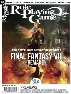 ROLE PLAYING GAME -  JUILLET - SEPTEMBRE 2019 62
