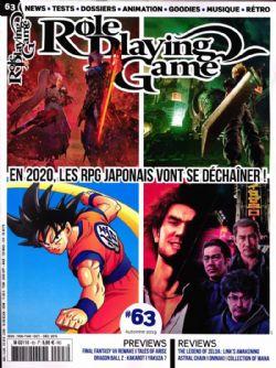 ROLE PLAYING GAME -  OCTOBRE - DÉCEMBRE 2019 63