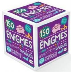 ROLL'CUBE -  150 ÉNIGMES POUR BRAINSTORM TONIQUES