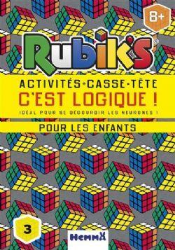 RUBIK'S -  ACTIVITÉS + CASSE-TÊTE C'EST LOGIQUE!