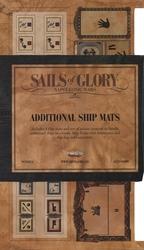 SAILS OF GLORY -  TAPIS DE JEU NAVIRE ADDITIONNELS -  NAPOLEONIC WARS