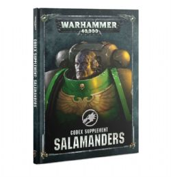 SALAMANDERS -  CODEX SUPPLEMENT (ANGLAIS)