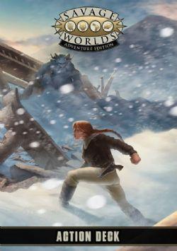 SAVAGE WORLDS: ADVENTURE EDITION -  ACTION DECK (ANGLAIS)
