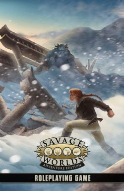 SAVAGE WORLDS: ADVENTURE EDITION -  LIVRE DE RÈGLE (ANGLAIS)