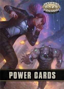 SAVAGE WORLDS: ADVENTURE EDITION -  POWER CARDS (ANGLAIS)