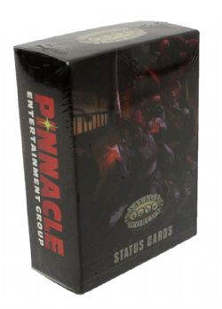SAVAGE WORLDS: ADVENTURE EDITION -  STATUS CARDS (ANGLAIS)