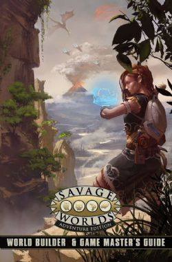 SAVAGE WORLDS: ADVENTURE EDITION -  WORLD BUILDER & GAME MASTER'S GUIDE (ANGLAIS)